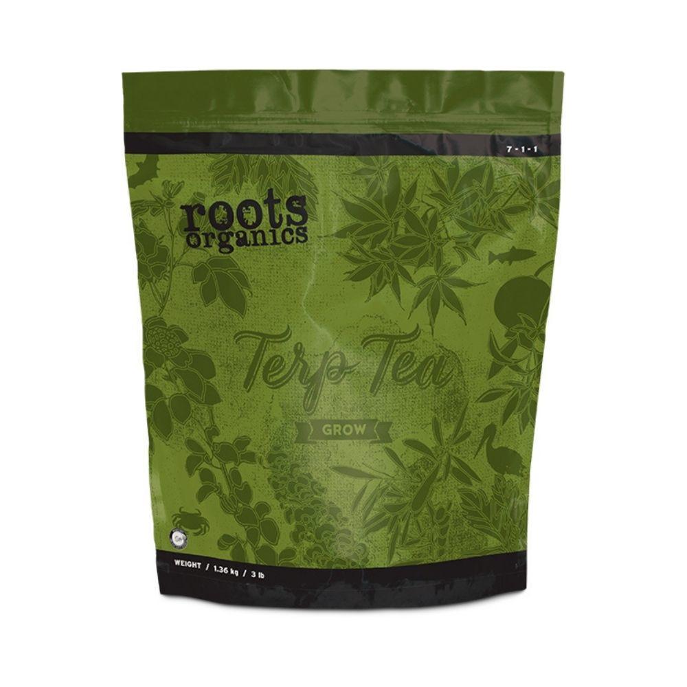 Fertilizante org%c3%a1nico npk roots organics terp tea grow tech industries