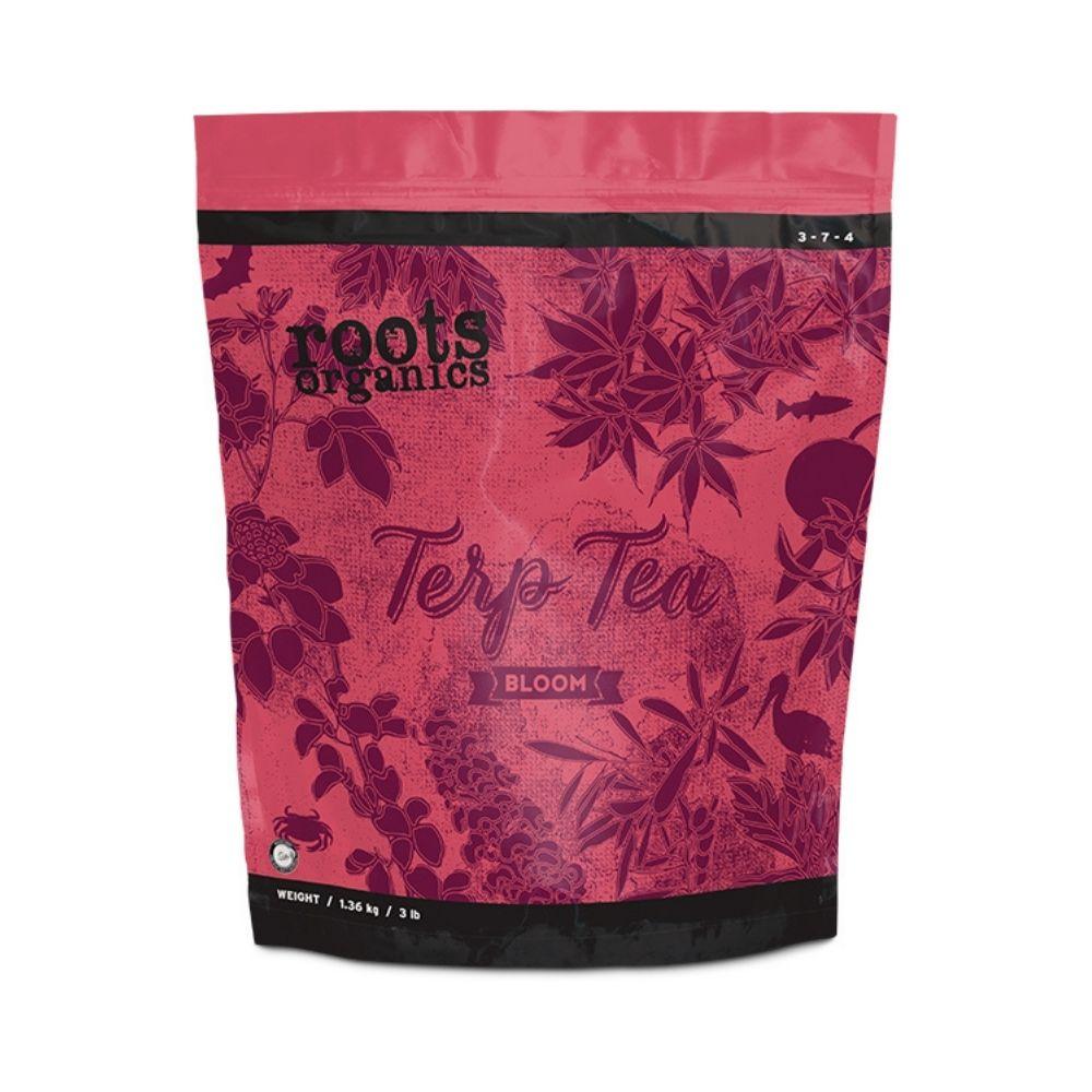 Fertilizante org%c3%a1nico npk roots organics terp tea bloom tech industries