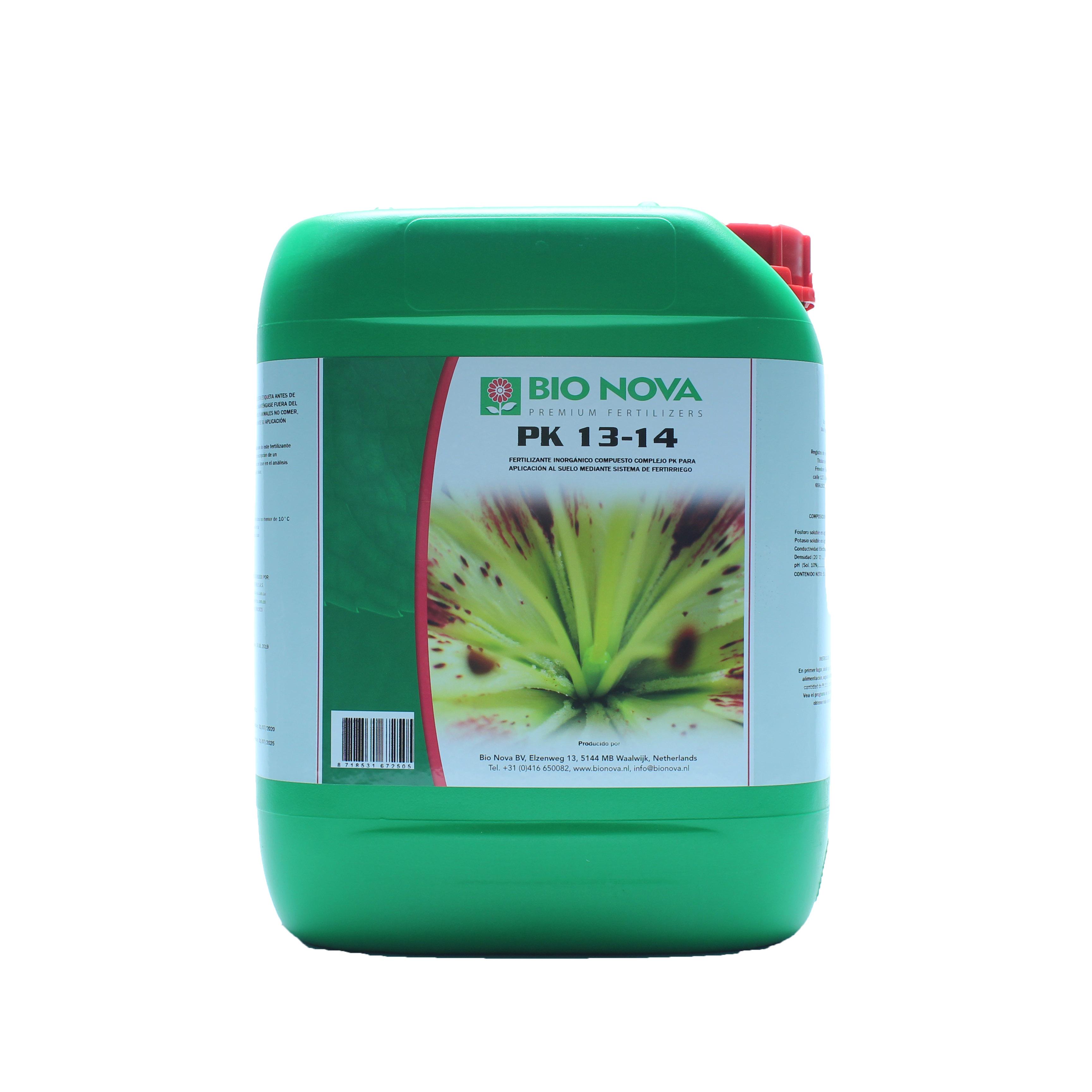 Fertilizante bio nova pk 13 14 tech industries