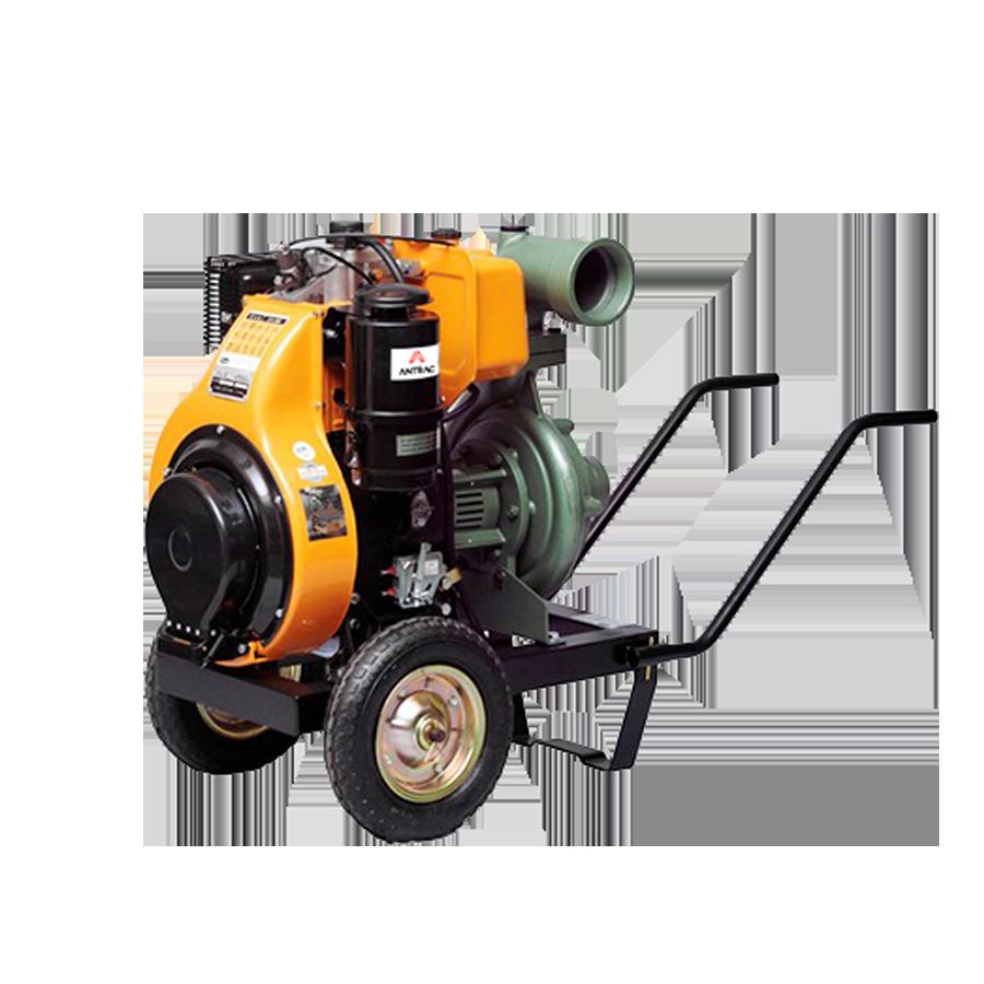 Comercial de riegos motobomba motor antor diesel yuzuak