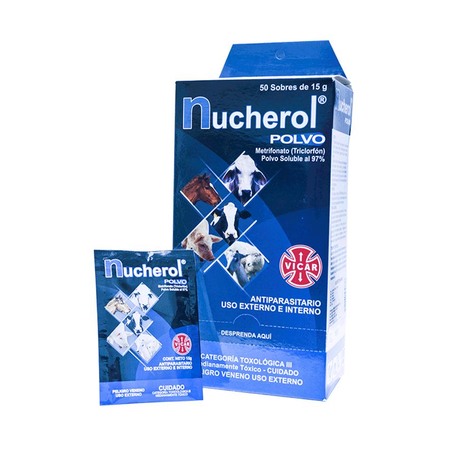 Nucherol caja x 50