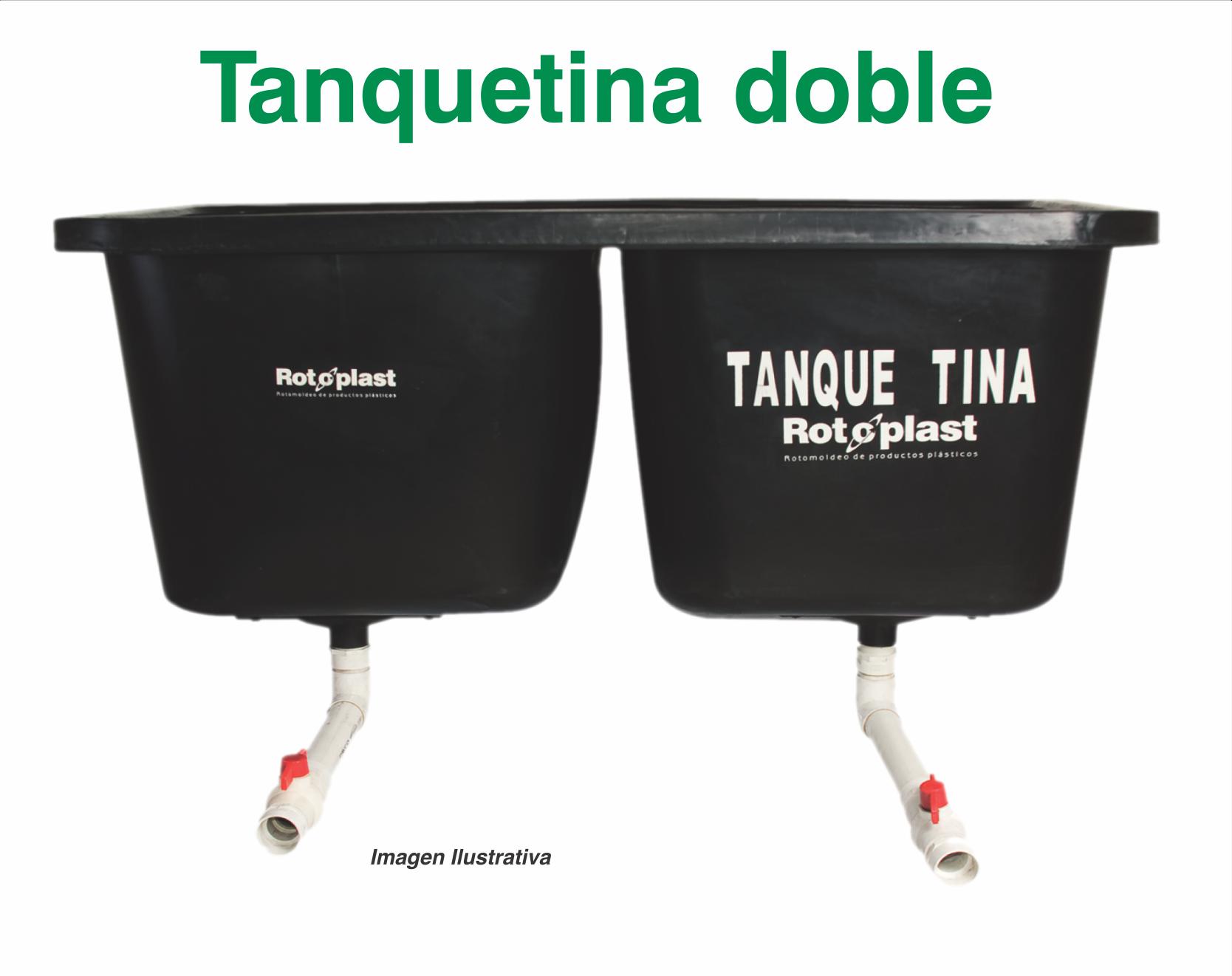 Tanque tinas dobles para lavar caf%c3%a9 rotoplast