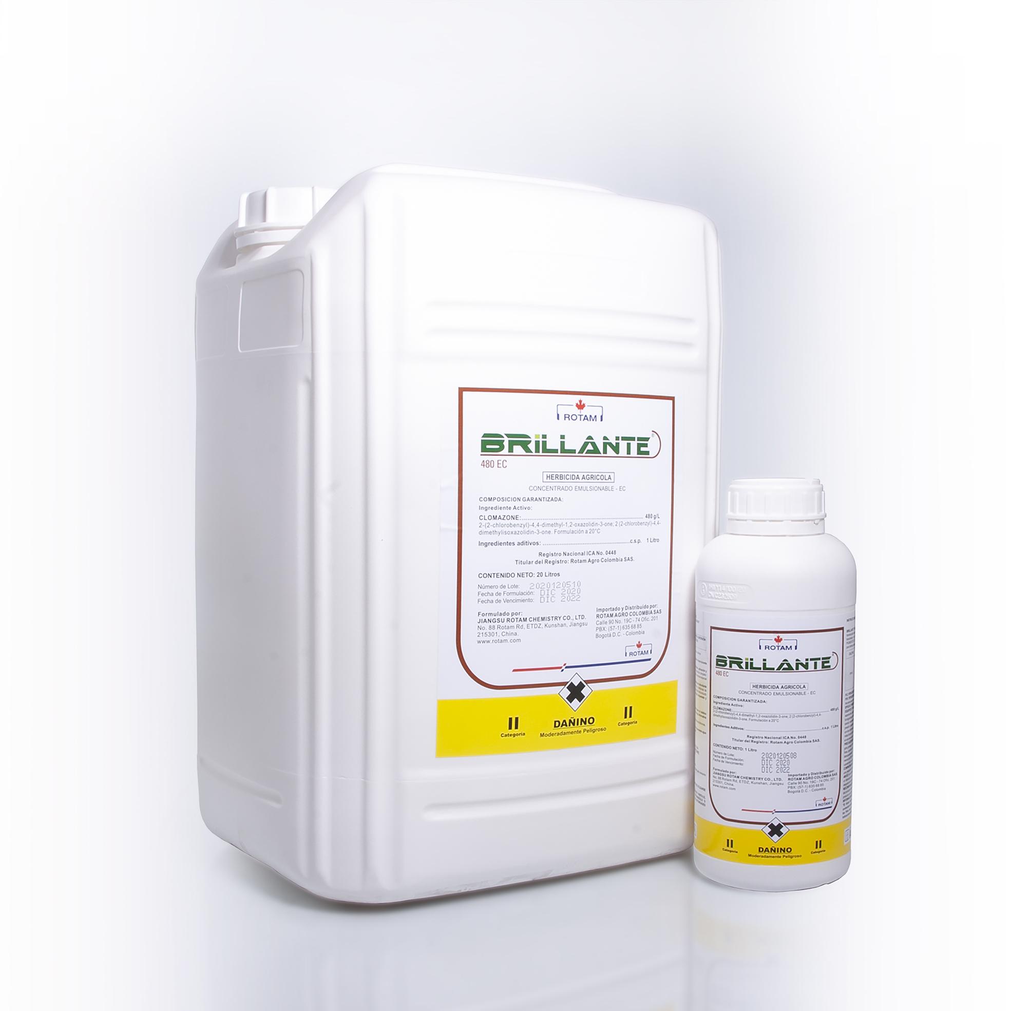 Herbicida brillante rotam