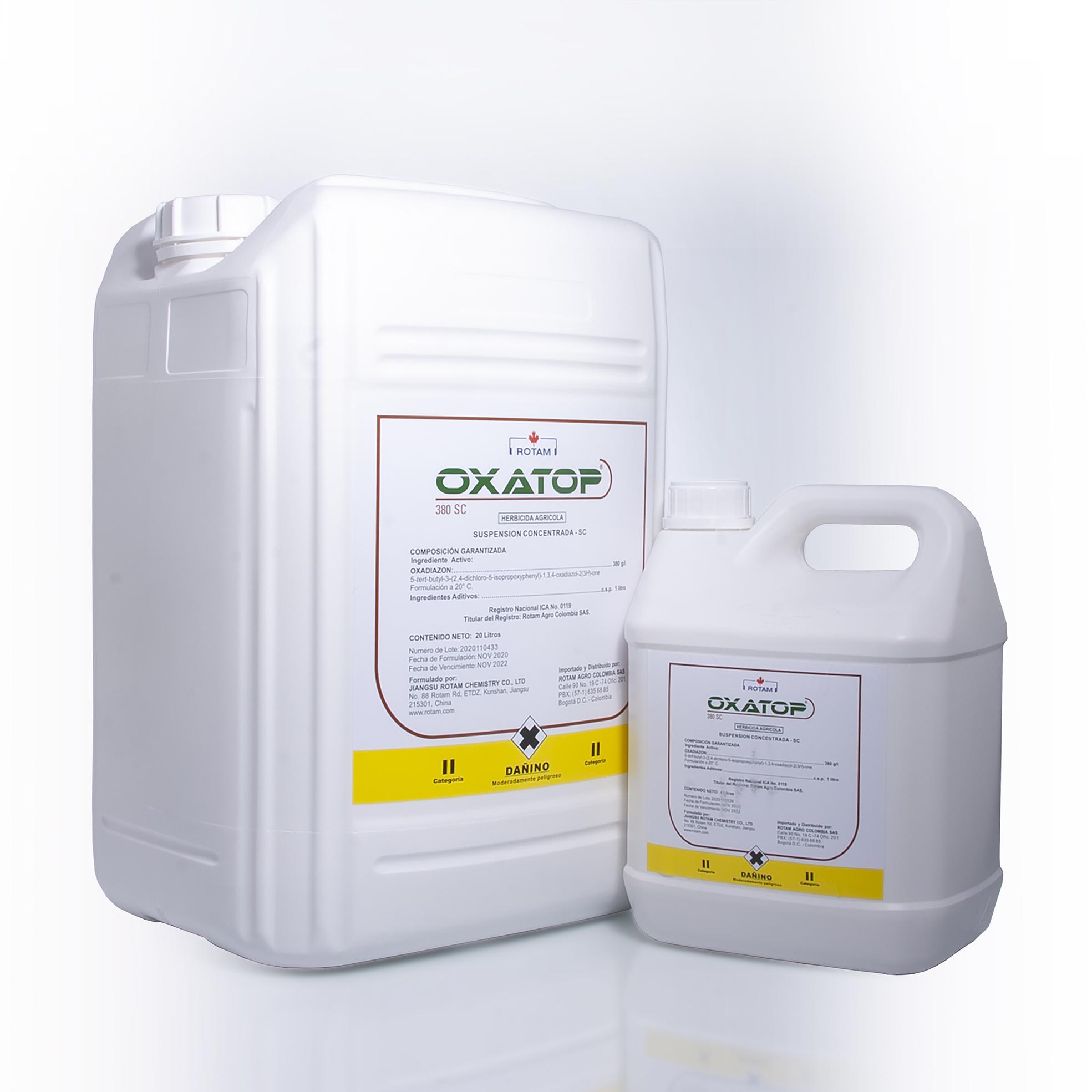 Herbicida oxatop rotam
