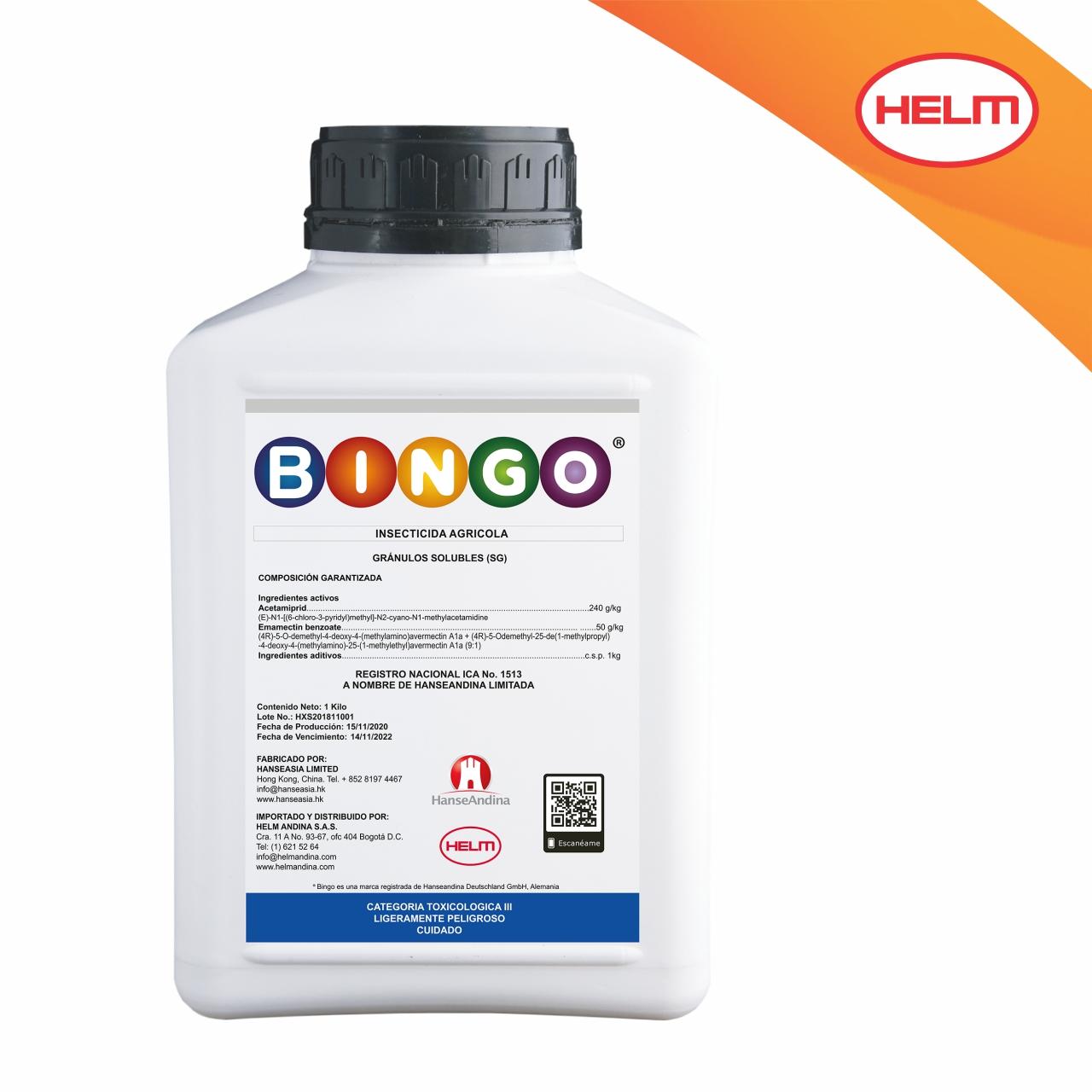 Insecticida bingo helm andina