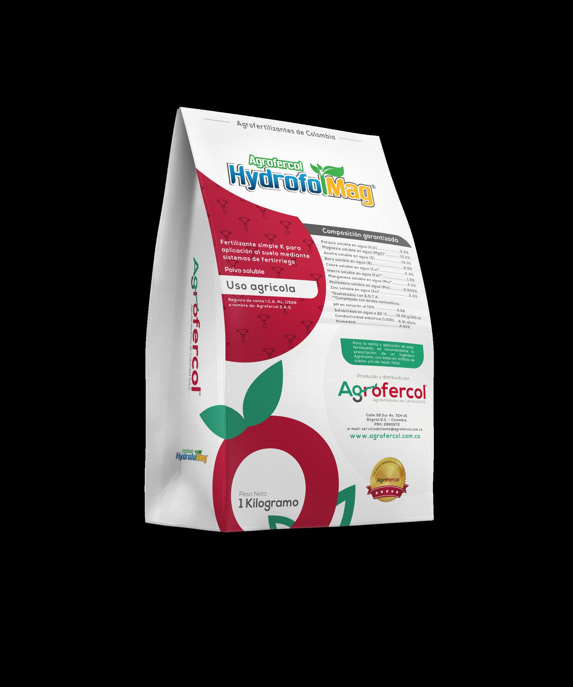 Fertilizante simple  agrofercol hydrofolmag