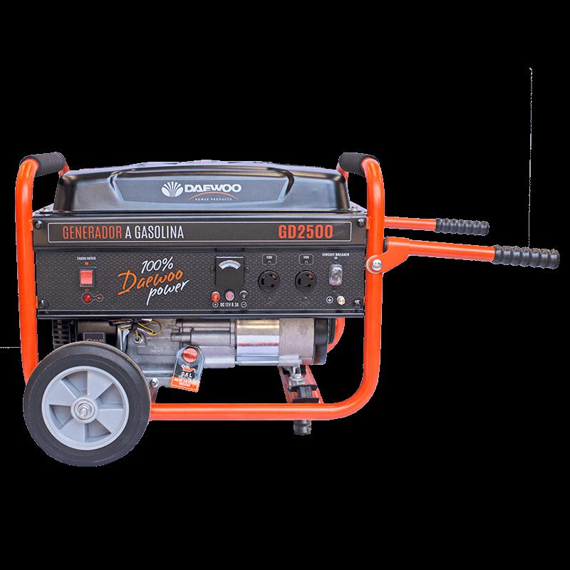 Generador de energia a a gasolina gd2500 1
