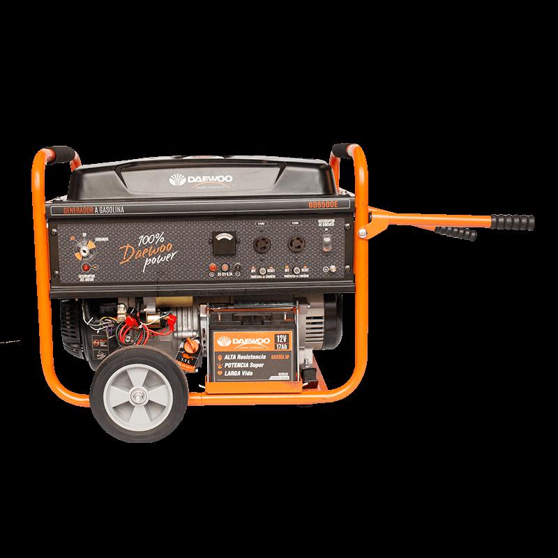 Generador de energia a a gasolina gd6500e 1