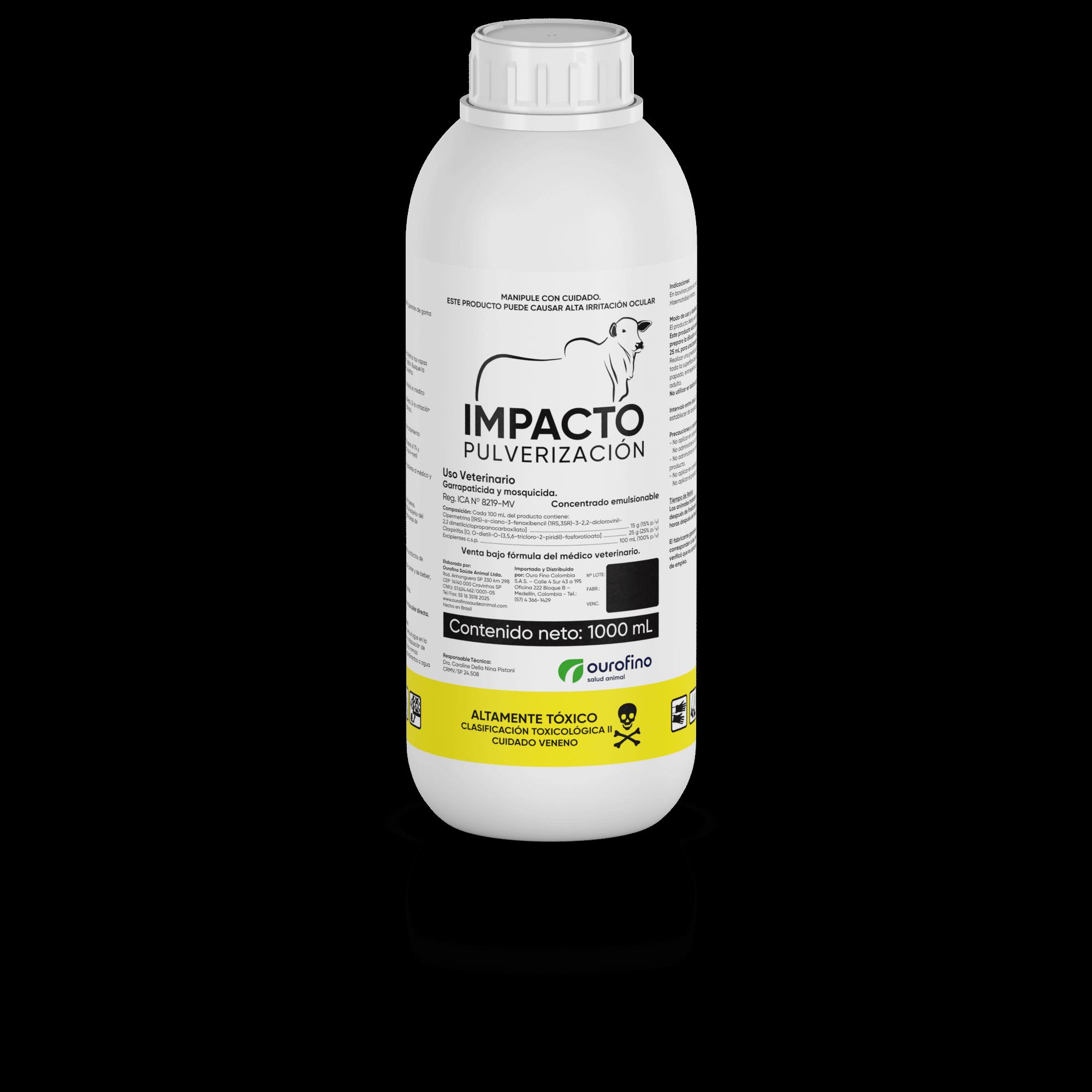 Ectoparasiticida impacto pulverizacion x 1000 ml