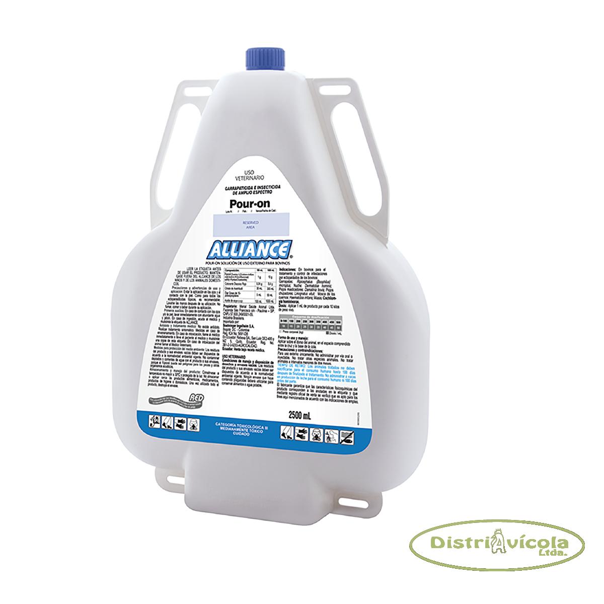 Ectoparasiticida  alliance x 1 litro distriavicola
